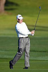 February 14, 2010; Pebble Beach, CA, USA; Jeff Maggert on the second hole during the final round of the AT&T Pebble Beach Pro-Am at Pebble Beach Golf Links.