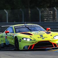 #95, Aston Martin Racing, Aston Martin Vantage AMR, LMGTE Pro, driven by:  Marco Sorensen, Nicki Thiim, Darren Turner, 24 Heures Du Mans  2018, , 16/06/2018,