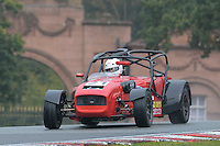 #21 Peter Ratcliff Caterham C400 2300 during the CSCC Gold Arts Magnificent Sevens at Oulton Park, Little Budworth, Cheshire, United Kingdom. October 15 2016. World Copyright Peter Taylor/PSP. <br /> Copy of publication required for printed pictures.  Every used picture is fee-liable. http://archive.petertaylor-photographic.co.uk