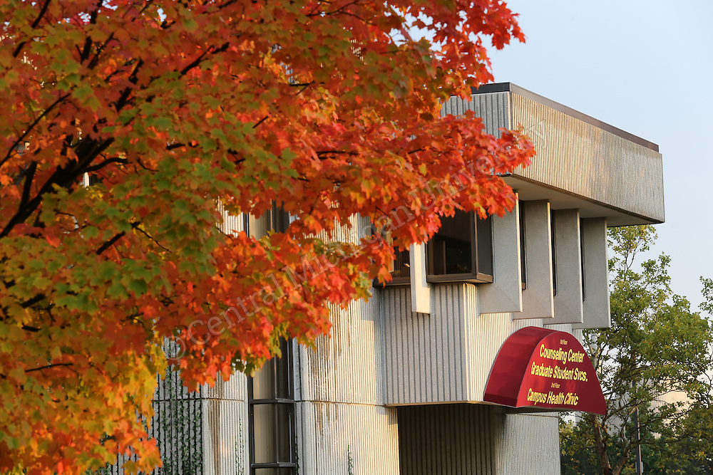 Fall scenics on the campus of Central Michigan University on October 6, 2014. Photos by Steve Jessmore/Central Michigan University