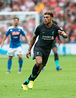 EDINBURGH, SCOTLAND - JULY 28: <br /> Liverpool and England midfielder,Alex Oxlade-Chamberlain, during the Pre-Season Friendly match between Liverpool FC and SSC Napoli at Murrayfield on July 28, 2019 in Edinburgh, Scotland. (Photo by MB Media)