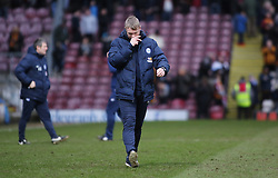 Peterborough United Manager Grant McCann leaves the pitch dejected at full-time - Mandatory by-line: Joe Dent/JMP - 04/03/2017 - FOOTBALL - Coral Windows Stadium - Bradford, England - Bradford City v Peterborough United - Sky Bet League One