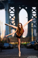 Dance As Art Streets of Dumbo Series with dancer Ellery Smith