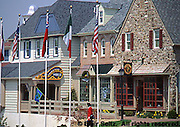 Peddlers Village Shops, Early American Style, Lahaska, Bucks Co., PA