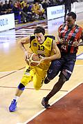 DESCRIZIONE : Ancona Lega A 2012-13 Sutor Montegranaro Angelico Biella<br /> GIOCATORE : Fabio Di Bella<br /> CATEGORIA : palleggio penetrazione<br /> SQUADRA : Sutor Montegranaro<br /> EVENTO : Campionato Lega A 2012-2013 <br /> GARA : Sutor Montegranaro Angelico Biella<br /> DATA : 02/12/2012<br /> SPORT : Pallacanestro <br /> AUTORE : Agenzia Ciamillo-Castoria/C.De Massis<br /> Galleria : Lega Basket A 2012-2013  <br /> Fotonotizia : Ancona Lega A 2012-13 Sutor Montegranaro Angelico Biella<br /> Predefinita :