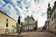 Kosciol sw. Piotra i Pawla, Krakow<br /> SS Peter and Paul's Church, Cracow, Poland