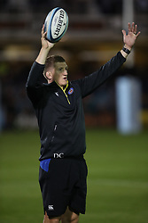 Bath Rugby General Manager Stuart Hooper during warm up ahead of the Gallagher Premiership match at the Recreation Ground, Bath.