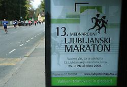 13. Ljubljanski maraton po ulicah Ljubljane, 26. oktobra 2008, Ljubljana, Slovenija. (Photo by Vid Ponikvar / Sportal Images)/ Sportida)