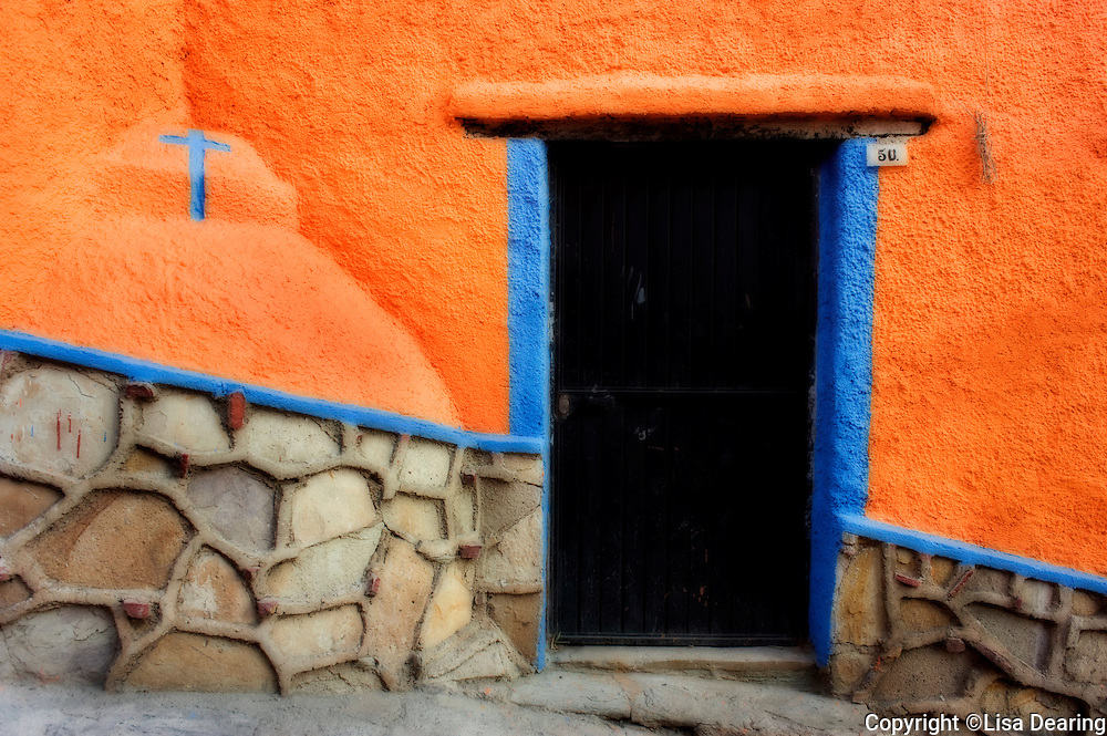 Doorway with Cross, Guanajuato, Mexico
