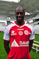Mohamed Fofana - 21.10.2014 - Photo officielle Reims - Ligue 1 2014/2015<br /> Photo : Philippe Le Brech / Icon Sport
