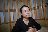 Rika Mashiko, grundaren av stödgruppen Hinan Mama Net. Kvinnor som evakuerat med sina barn från Fukushima till Tokyo kan vända sig till gruppen.