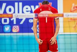 23-09-2016 NED: EK Kwalificatie Turkije - Wit Rusland, Koog aan de Zaan<br /> Turkije had het vrij lastig in de eerste wedstrijd tegen Wit Rusland maar blijven meedoen voor het EK ticket / Ulaa Kiyak of Turkye