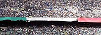 """Tifosi dell'Inter in Curva Nord prima dell'inizio della partita<br /> <br /> Inter fans<br /> <br /> Italian """"Serie A"""" 2006-2007 <br /> <br /> 18 Apr 2007 (Match Day 22)<br /> <br /> Inter-Roma (1-3)<br /> <br /> """"Giuseppe Meazza"""" Stadium-Milano-Italy<br /> <br /> Photographer:Jennifer Lorenzini INSIDE"""