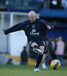 PORTSMOUTH, ENGLAND - SATURDAY, DECEMBER 9th, 2006: Andy Johnson of Everton during the Premiership match against Portsmouth at Fratton Park. (Pic by Chris Ratcliffe/Propaganda)