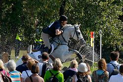 Bouckaert Carl (BEL) - Rampant Lion<br /> European Championship - Fontainebleau 2009<br /> Photo © Dirk Caremans