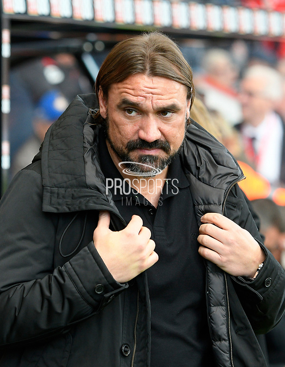 Norwich City manager Daniel Farke during the Premier League match between Bournemouth and Norwich City at the Vitality Stadium, Bournemouth, England on 19 October 2019.