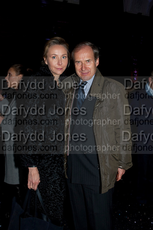 MICHAELA DE PURY; SIMON DE PURY,   Wallpaper Design Awards 2012. 10 Trinity Square<br /> London,  11 January 2011.