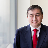 Lombard Odier Chief Investment Officer (CIO) for the Asia-Pacific region Jean-Louis Nakamura poses for a portrait session at the company headquarters on 12 May 2016 in Hong Kong, China. Photo by Victor Fraile / studioEAST