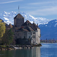 At a site occupied since the Bronze age, the Castle has been a strategic point on Lake Léman since at least 1150. At the foot of the Alps, one of 3 major North-South passes through the Alps lies to the south, making this a strategic control point for North-South European trade throughout history.