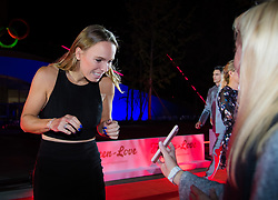 September 30, 2018 - Caroline Wozniacki of Denmark on the red carpet at the 2018 China Open WTA Premier Mandatory tennis tournament players party (Credit Image: © AFP7 via ZUMA Wire)