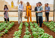 30-5-2017 - VIETNAM  DA LAT -Arrival at Horti Da Lat's GreenHouse Farm Queen Maxima visits farmers in Dalat . Queen Maxima, in her capacity as Special Prosecutor of the Secretary-General of the United Nations, for Inclusive Finance for Development, visits the Socialist People's Republic of Vietnam on Tuesday, May 30, and Thursday, June 1, 2017. COPYRIGHT ROBIN UTRECHT<br /> <br /> <br /> 30-5-2017 - VIETNAM  DA LAT -Aankomst bij 'GreenHouse Farm' van Horti Da Lat.  Koningin Maxima bezoekt boeren in Da Lat . Koningin Maxima bezoekt in haar hoedanigheid van speciale pleitbezorger van de secretaris-generaal van de Verenigde Naties voor inclusieve financiering voor ontwikkeling (inclusive finance for development) de Socialistische Volksrepubliek Vietnam van dinsdag 30 mei en met donderdag 1 juni 2017.  COPYRIGHT ROBIN UTRECHT NETHERLANDS ONLY !!