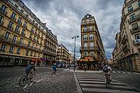 Intersection of Rues La Fayette, Mayran, and Montholon, Rochechouart