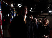 """House Budget Chairman PAUL RYAN (R-WI) (back right) holds a news conference with House Republicans to unveil their FY2012 budget resolution they are calling """"Path to Prosperity.'"""