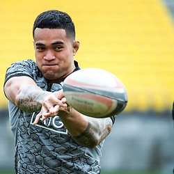 Vaea Fifita. All Blacks training at Westpac Stadium in Wellington, New Zealand on Thursday, 14 June 2018. Photo: Dave Lintott / lintottphoto.co.nz