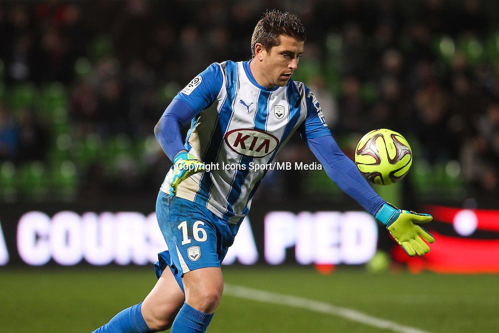 Cedric CARRASSO - 03.12.2014 - Metz / Bordeaux - 16eme journee de Ligue 1 -<br />Photo : Fred Marvaux / Icon Sport