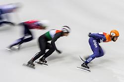 12-01-2018 DUI: ISU European Short Track Championships 2018 day 1, Dresden<br /> Sjinkie Knegt NED #2, creative