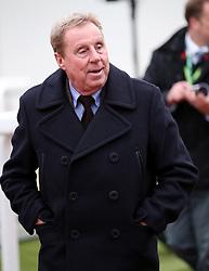 Harry Redknapp during Festival Trials Day at Cheltenham Racecourse.
