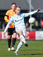 FODBOLD: Anders Holst (FC Helsingør) under kampen i NordicBet Ligaen mellem FC Helsingør og FC Roskilde den 9. april 2017 på Helsingør Stadion. Foto: Claus Birch
