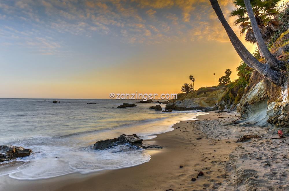 Laguna Beach Ca; Heisler Park, Rockpile Beach, Main Beach, seaside cove; beach; ocean; cliff
