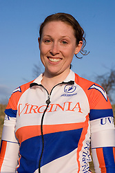 Virginia Cavaliers Jana Hester..Members of the University of Virginia Cycling Team met at Reeds Gap on the Blue Ridge Parkway in Virginia on April 9, 2007 for a team photo shoot.
