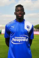 Junior Sambia - 05.09.2014 - Photo officielle Niort - Ligue 2 2014/2015<br /> Photo : Philippe Le Brech / Icon Sport