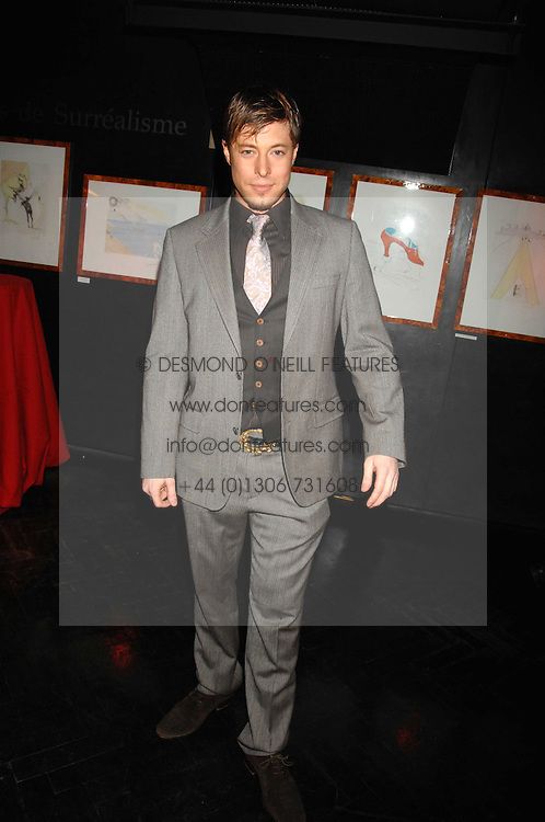 DUNCAN JAMES at Andy & Patti Wong's Chinese new Year party held at County Hall and Dali Universe, London on 26th January 2008.<br /> <br /> NON EXCLUSIVE - WORLD RIGHTS (EMBARGOED FOR PUBLICATION IN UK MAGAZINES UNTIL 1 MONTH AFTER CREATE DATE AND TIME) www.donfeatures.com  +44 (0) 7092 235465
