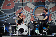 Matt and Kim performing at The Bamboozle in East Rutherford, New Jersey. May 2, 2010. Copyright © 2010 Matt Eisman. All Rights Reserved.