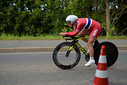 Cecilie Gotaas Johnsen (Norway) at Thüringen Rundfarht 2016 - Stage 4 a 19km time trial starting and finishing in Zeulenroda Triebes, Germany on 18th July 2016.