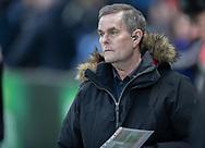 FODBOLD: TV-kommentator Carsten Werge før kampen i Superligaen mellem Brøndby IF og Randers FC den 24. februar 2019 på Brøndby Stadion. Foto: Claus Birch.