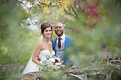 Karlee & Jermal's autumn wedding at Whistle Bear