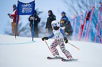 Gus Pitou U12 girls 2107 Gunstock Ski Club.  ©2017 Karen Bobotas Photographer
