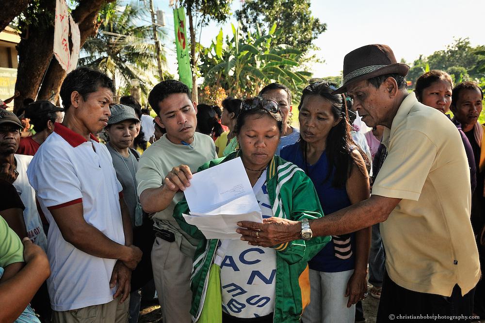 Die Landlosen werden dadurch in die Lage versetzt, sich gegen Grossgrundbesitzer oder Behörden zu behaupten.