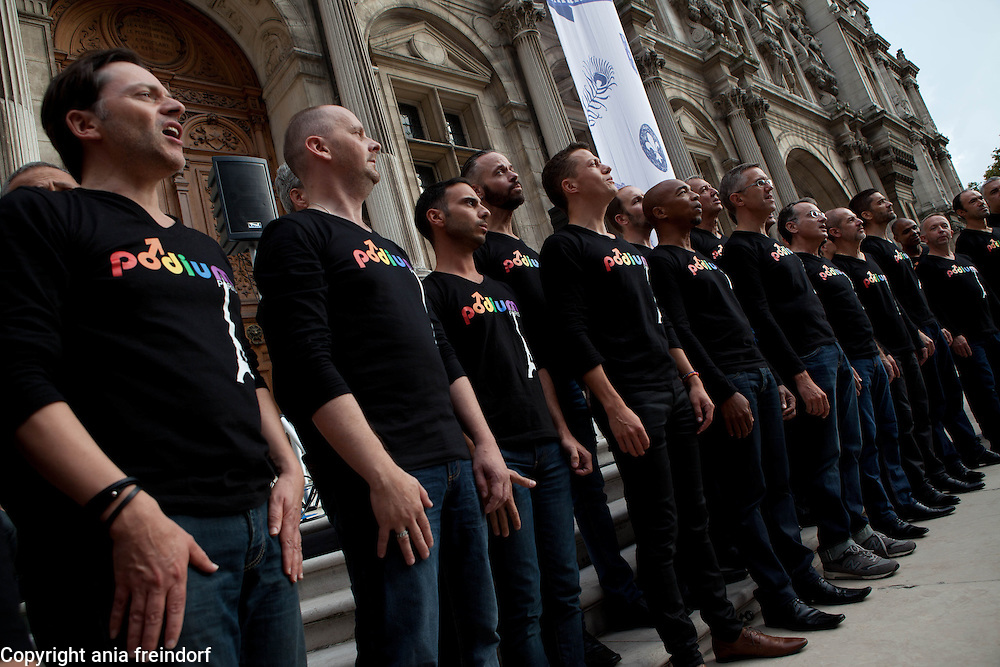 Gay Games in Paris, launching in Paris 2014, gay games will be held in 2018, gay village at the place Hotel de ville.