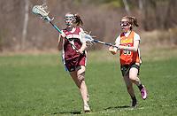Lakes Region Lacrosse U15 girls versus Concord Crush May 1, 2011.