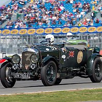 #31, Bentley 4 1/2 Le Mans (1929), Stanley Mann (GB) and Philip Strickland (GB), Kidston Trophy for Pre-War Sports Cars. 25.07.2015. Silverstone, England, U.K.  Silverstone Classic 2015.