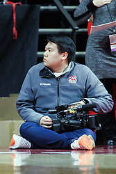 NORMAL, IL - January 05: Pablo Iglesias during a college basketball game between the ISU Redbirds and the University of Evansville Purple Aces on January 05 2019 at Redbird Arena in Normal, IL. (Photo by Alan Look)