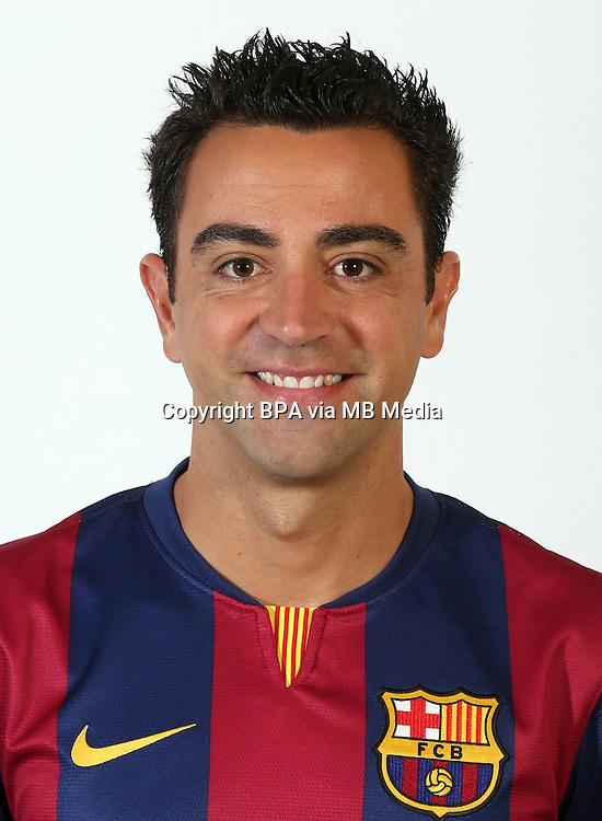 Spain - La Liga BBVA  2014-2015 /<br /> Xavi Hernandez -<br /> ( Fc Barcelona )
