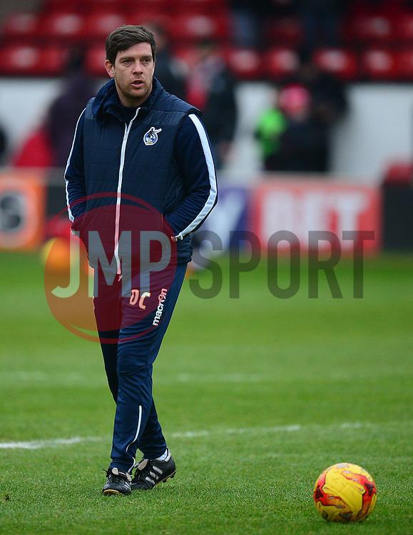 Bristol Rovers manager Darrell Clarke - Mandatory by-line: Alex James/JMP - 21/01/2017 - FOOTBALL - Banks's Stadium - Walsall, England - Walsall v Bristol Rovers - Sky Bet League One