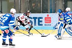 19.10.2012, Hostan Arena, Znojmo, CZE, EBEL, HC Orli Znojmo vs EC Villacher SV, 13. Runde, im Bild David Bartos (Znojmo #10) // during the Erste Bank Icehockey League 13nd round match betweeen HC Orli Znojmo and EC Villacher SV at the Hostan Arena, Znojmo, Czech Republic on 2012/10/19. EXPA Pictures © 2012, PhotoCredit: EXPA/ Rostislav Pfeffer