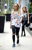 Rita Ora in sports gear in New York